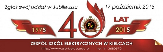 Jubileusz 40-lecia Zespołu Szkół Elektrycznych w Kielcach