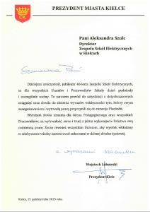 Prezydent Miasta Kielce